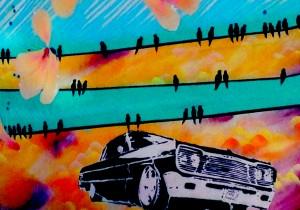 detail, outdoor mural, Railyard district, Santa Fe, NM photo: Dr. Melanie Harth